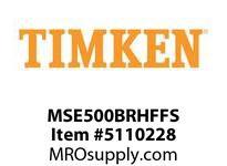 TIMKEN MSE500BRHFFS Split CRB Housed Unit Assembly