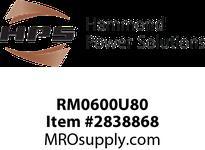 HPS RM0600U80 IREC 600A 0.080MH 60HZ CC Reactors