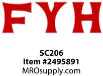 FYH SC206 30MM LD NON-EXTENDING INNER RING *FLUSH*