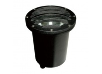 Orbit 5212 120V PAR38 WELL LIGHT W/ LOUVER - BLACK