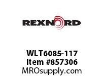 REXNORD WLT6085-117 LT6085-117 LT6085 117 INCH WIDE MATTOP CHAIN W