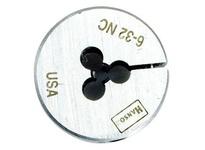 "IRWIN 3718 Die 6-32 NC HCS Adj. Round 1"" O.D."