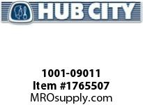 HubCity 1001-09011 PB250DRWX55MM Pillow Block Bearing