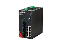 NT24K-11GXE3-SC-10-POE 11-Port Gigabit Managed POE+ Industrial Ethernet Switch (8 10/100/1000BaseT 3 1000BaseLX