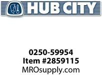 HUB CITY 0250-59954 SSHB2073EL 38.68 143TC Helical-Bevel Drive