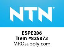 NTN ESPE206 MOUNTED UNIT (CAST IRON)