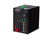 NT24K-10FXE2-SC-40 10-Port Gigabit Managed Industrial Ethernet Switch (8 10/100/1000BaseT 2 100BaseFX singlemod