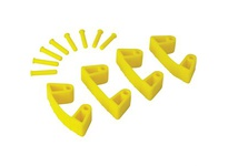 REMCO 10196 Vikan Wall Bracket Replacement Clips for Wall Bracket-
