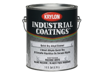 KRY K00788486-20 Industrial Quick Dry ALK Enamel Equipment Yellow Krylon 5gal. (1)