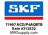 SKF-Bearing 71907 ACD/P4AQBTB