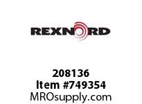 REXNORD 208136 589951 600.S52.HUB ASSY ES