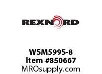 REXNORD WSM5995-8 WSM5995-8 WSM5995 8 INCH WIDE MATTOP CHAIN WI