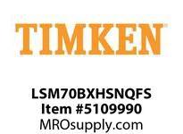 TIMKEN LSM70BXHSNQFS Split CRB Housed Unit Assembly