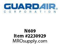 Nordair N609 15 Gallon Liquid Shut-Off Assembly