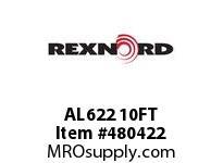 REXNORD 6675403 AL622 AL 622 10 FT