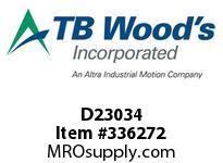 TBWOODS D23034 D230/.750 CLUTCH ASSY