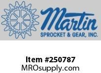 Martin Sprocket C20168 GEAR SPUR 14 1/2 DEG CAST