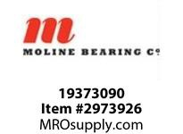 Moline Bearing 19373090 SPLIT E 1000 CARTRIDGE ASSEMBLY 90MM SPLIT E1000 CARTRIDGE ASSEMBLY