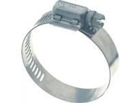 """WG10404 Worm Gear Clamp 304SS 1/2"""" X .024"""""""
