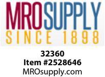 MRO 32360 3/8 X 3/8 BARB X MIP SWIVEL