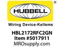 HBL_WDK HBL2172RFC2GN RF CTRL HGR SPLT CIRC 15A 5-15R GN