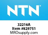 NTN 32216A Medium Tapered Roller Bearings