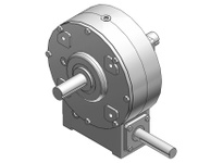 HUBCITY 0220-20630 W516 50/1 D WR CAST IRON WORM GEAR DRIVE