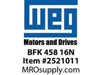 WEG BFK 458 16N HAND BRAKE RELEASE 210 FRAME Motores