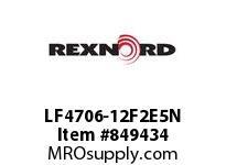 REXNORD LF4706-12F2E5N LF4706-12 F2 T5P LF4706 12 INCH WIDE MATTOP CHAIN WI