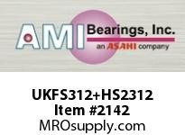 AMI UKFS312+HS2312 2-1/8 HEAVY WIDE ADAPTER 4-BOLT PIL