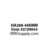 PTI HA208-40AMM HANGER BEARING-40MM HA 200 SILVER SERIES - NORMAL DUTY