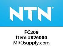 NTN FC209 Bearing Units - Cast Housing