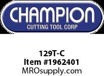 Champion 129T-C TITANIUM COATED BRUT DRILL SETS