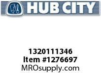 HubCity 1320111346 B250RX2-15/16 DURALINE