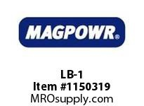 MagPowr LB-1 Locking Bracket to Convert C-1 to C MAGNETIC PARTICLE CLUTCH AND BRAKE