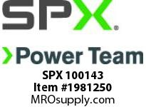 SPX 100143 WORK SUPPORT-BLOCK-1-100LB.