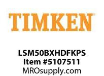 TIMKEN LSM50BXHDFKPS Split CRB Housed Unit Assembly