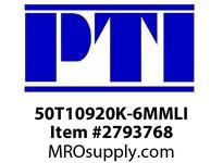 PTI 50T10920K-6MMLI LINATEX COVERED TIMING BELT BE-BERVINA