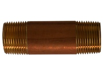 MRO 40081 3/4 X 1-1/2 RED BRASS NIPPLE