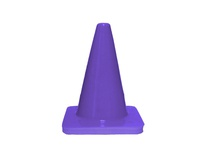 "Cortina 03-500-34-12 Sport Cone 5"" Purple .25#"