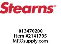 STEARNS 813470200 WSHR-PRESS SPR1/16 THK 8036984
