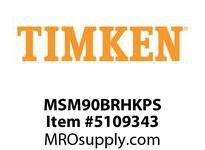 TIMKEN MSM90BRHKPS Split CRB Housed Unit Assembly