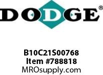 DODGE B10C21S00768 BB1083 210-CC 7.68 2-3/8 S SHFT