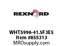 REXNORD WHT5996-41.5F3E5 WHT5996-41.5 F3 T5P N2.25 WHT5996 41.5 INCH WIDE MATTOP CHAIN