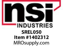 NSI SREL050 1/2 90 DEGREE ELBOW - WHITE (FITTING FOR TWO PIECE RACEWAY)