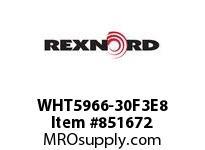 REXNORD WHT5966-30F3E8 WHT5966-30 F3 T8P N1.25 WHT5966 30 INCH WIDE MATTOP CHAIN W
