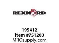 REXNORD 195412 594741 101.DBZC.CPLG STR TD