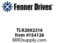"""FENNER TLK2002316 TLK200 - 2-3/16"""""""