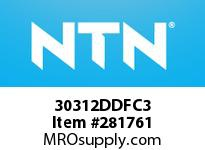 NTN 30312DDFC3 MEDIUM SIZE TRB 101.6<D<=203.2