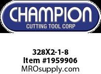 Champion 328X2-1-8 HS ROUND SCREW ADJ DIES